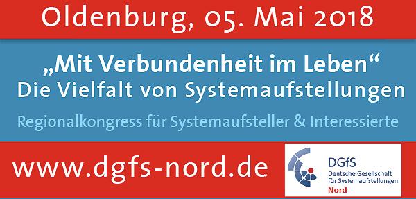 DGFS Regionalkongress 2018 in Oldenburg