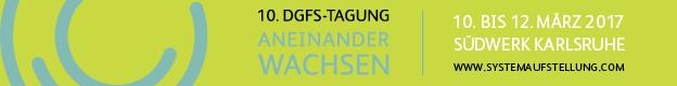 10. DGfS-Tagung: Aneinander wachsen